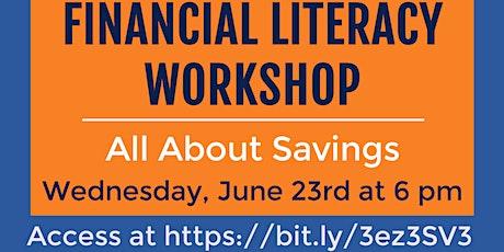 Financial Literacy Workshop: Personal Finance Basics tickets
