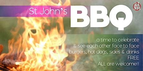 St John's BBQ tickets