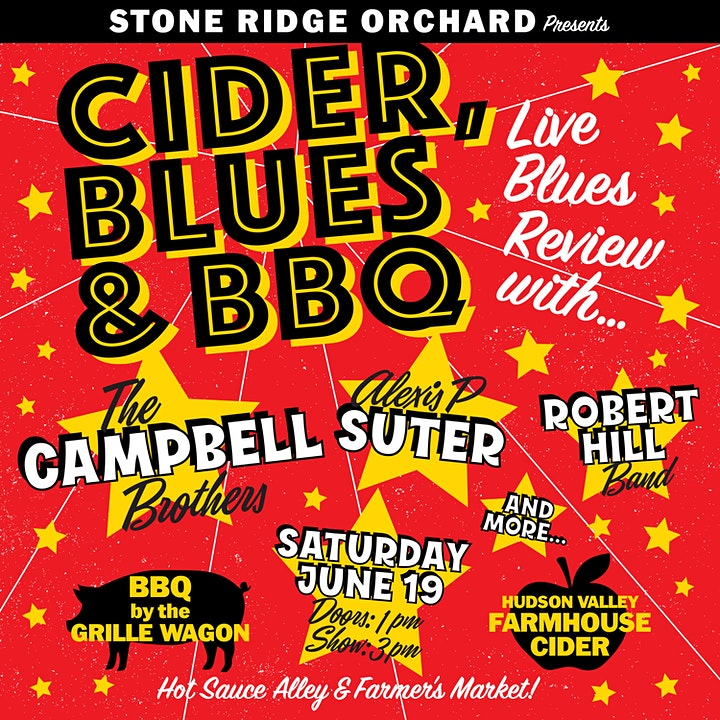 Cider, Blues & BBQ Fest with The Campbell Brothers, Alexis P Suter & More image