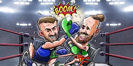Stevo Timothy v Paddy Barnes in aid of the Irish W tickets