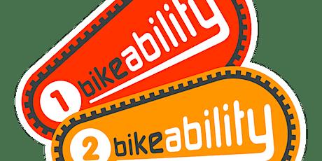 BIKEABILITY LEVEL 1 & 2 (for Year 6 Bolton children) tickets