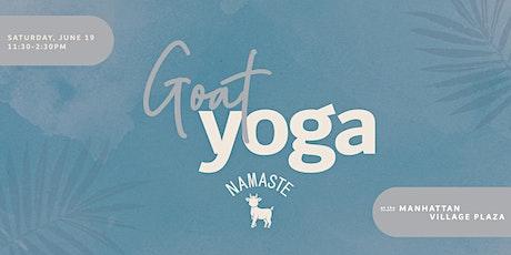 Namaste Goat Yoga tickets