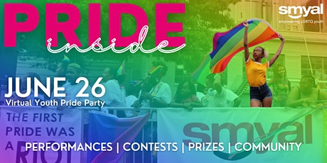 SMYAL Pride Inside: Virtual Pride Party for DMV Youth! tickets
