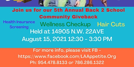 Back To School Give Back tickets