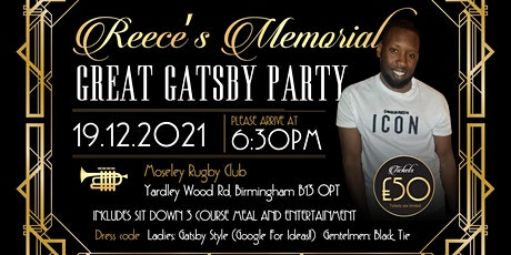 Reeces Memorial- The Great Gatsby Party tickets