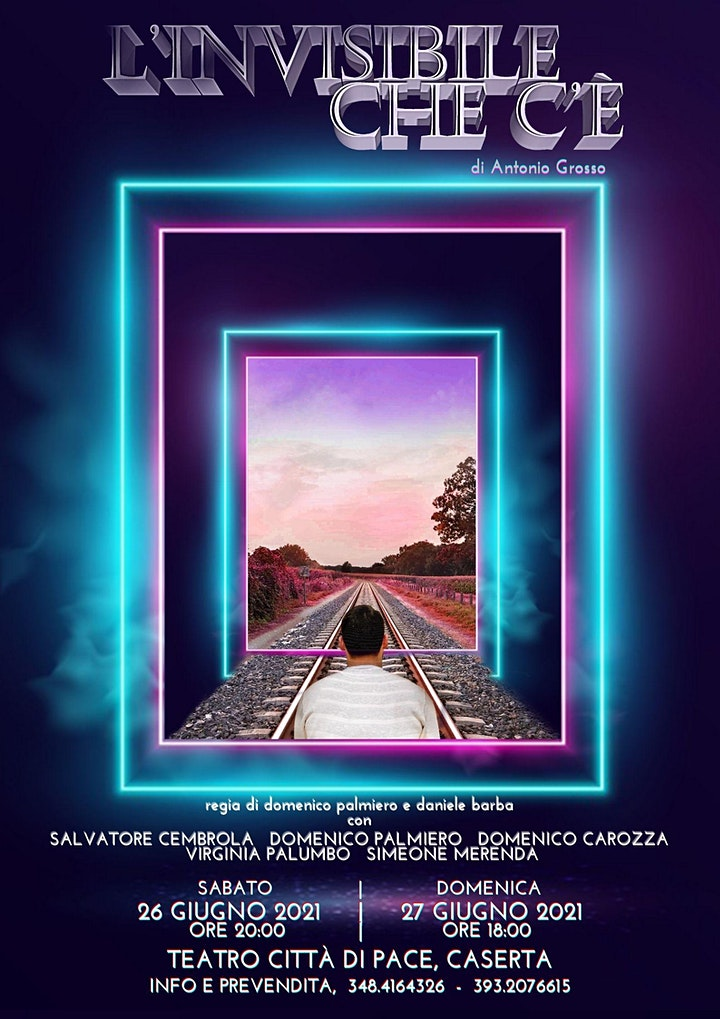Immagine L'Invisibile che c'è di Antonio Grosso - regia di Domenico Palmiero