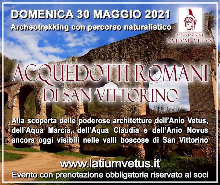 Immagine Archeotrekking alla scoperta degli acquedotti romani di San Vittorino