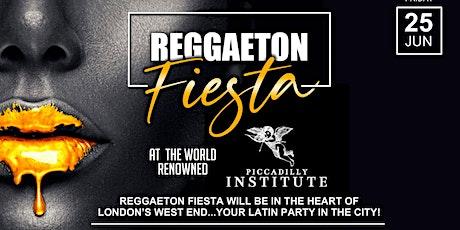 Reggaeton Fiesta - London tickets