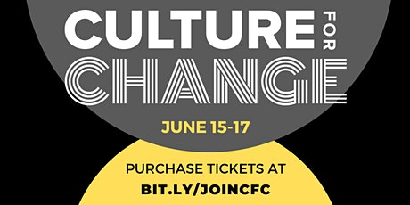 2021 Culture for Change Conference tickets