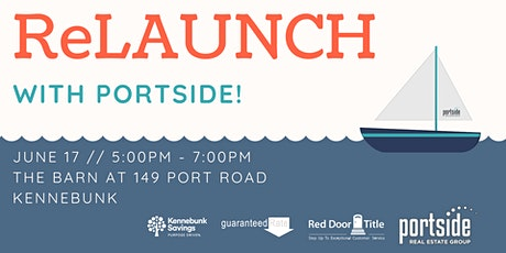 ReLAUNCH with Portside tickets