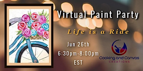 Virtual Summer Paint Session: Summer Ride tickets