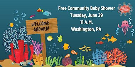 June 2021 Free Community Baby Shower - Washington tickets