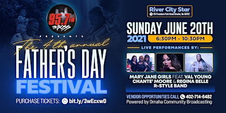 95.7 The Boss 4th Annual Father's Day Festival tickets