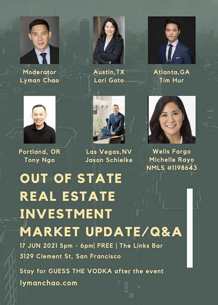 Out of State Real Estate Investment Market Update and Q&A Session image