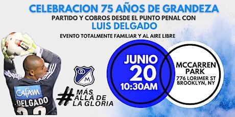 Celebración 75 Años De Grandeza al Aire Libre con Luis Delgado boletos