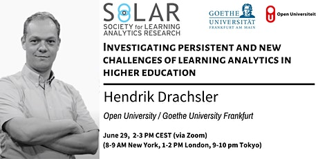 SoLAR Webinar: Investigating new and persistent  challenges of LA tickets