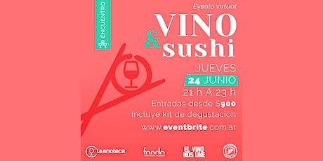 Encuentro especial: VINO & SUSHI boletos
