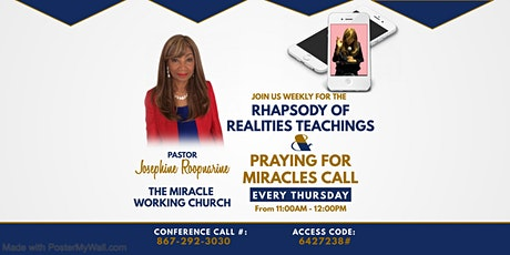 Rhapsody of Realities Teaching & Praying For Miracles tickets