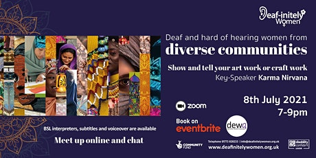 Deaf-initely Women: Deaf and hard of hearing women from diverse communities tickets