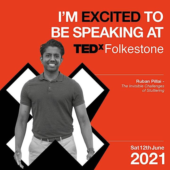 TEDxFolkestone 2021 - A New Horizon image