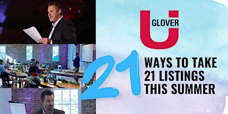 21 Ways to Take 21 Listings this Summer boletos