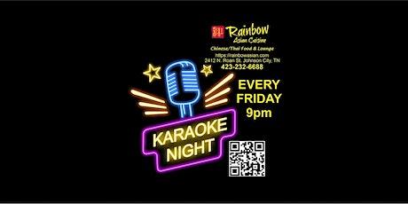 Friday Night Karaoke at Rainbow Asian Cuisine 9pm tickets