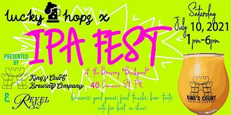 Lucky Hops x IPA Fest tickets