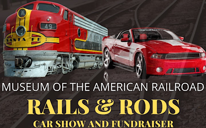 Museum of the American Railroad Rails & Rods Car Show & Fundraiser image