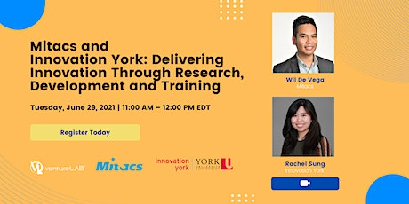 Info Session: Mitacs & Innovation York tickets