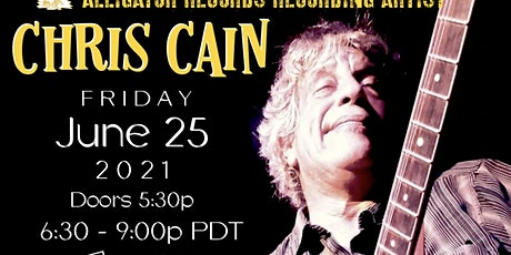 Chris Cain CD Release tickets