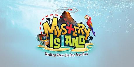 VBS 2021 Mystery Island tickets