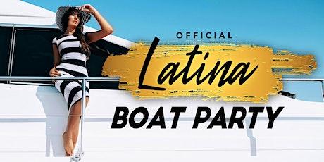#1 LATINA Sensation Dinner Yacht Cruise - Saturday Night NYC Boat Party tickets