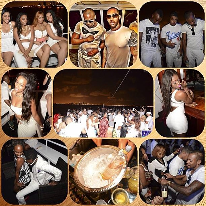 MIAMI NICE 2021 ANNUAL LABOR DAY WEEKEND ALL WHITE YACHT PARTY image