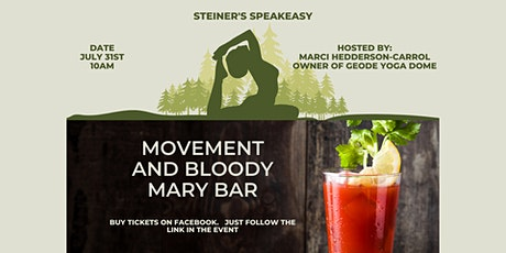 Movement and Bloody Mary Bar tickets