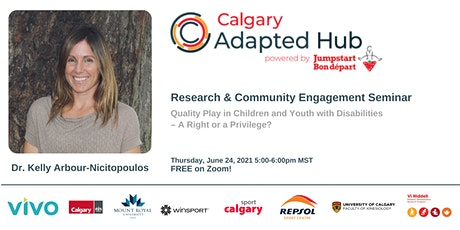 Research and Community Engagement Seminar - Dr. Kelly Arbour tickets