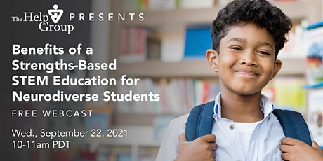 Benefits of a Strengths-Based STEM Education for Neurodiverse Students tickets