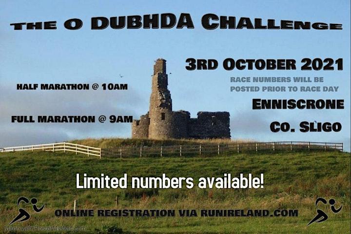 Enniscrone Half & Full Marathon - O'Dubhda Challenge 2021 image