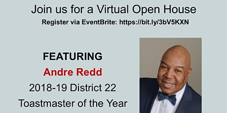 Lionsgate Toastmasters Virtual Open House tickets