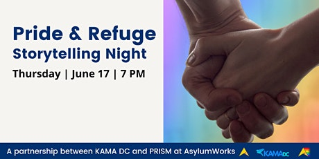 PRIDE & REFUGE: Storytelling Night with PRISM and KAMA DC tickets