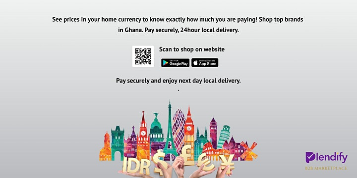 Plendify Diaspora B2B Marketplace Launch image