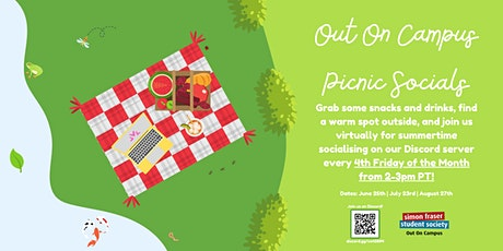 Out On Campus Picnic Socials tickets