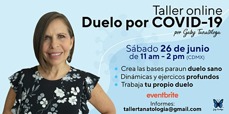 """Taller """"Duelo por COVID-19"""" entradas"""