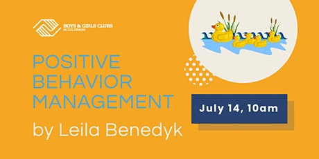 Positive Behavior Management tickets