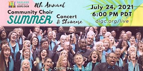 7/24: 8th Annual OICC Summer Gospel Concert tickets