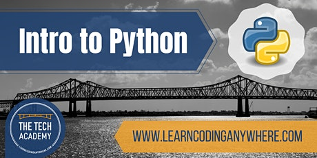 Intro to Python: A Free Coding Class at The Tech Academy tickets