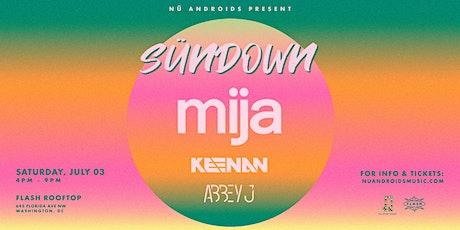 SünDown: Mija at Flash Rooftop (21+) tickets