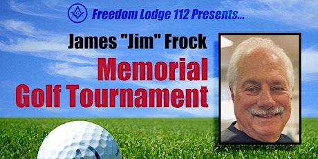 "James ""Jim"" Frock Memorial Golf Tournament tickets"