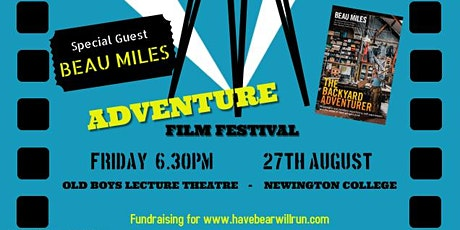 ADVENTURE FILM FESTIVAL - special guest BEAU MILES - Author and Filmaker tickets