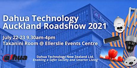 Dahua Technology New Zealand Roadshow 2021 Day 1 tickets