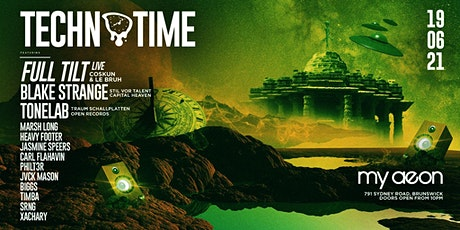 Techno Time June 19th Edition @  My Aeon tickets